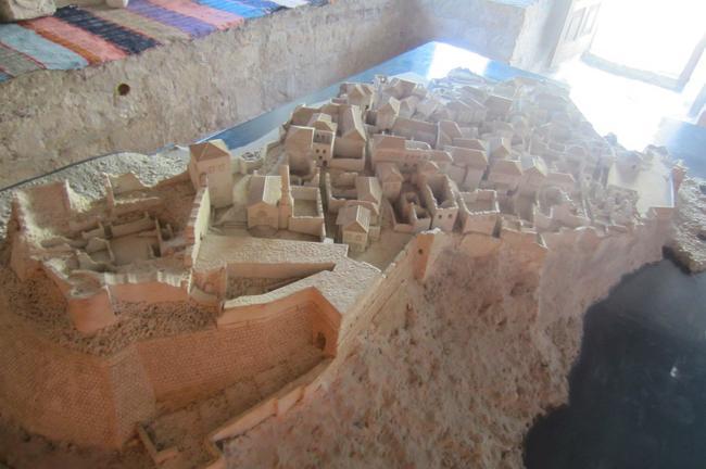 макет старого города Ульцынь