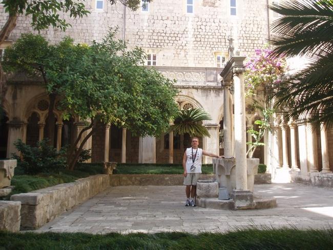 Внутрин дворик дворца доминиканцев