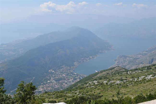 Виды с горы Ловчен