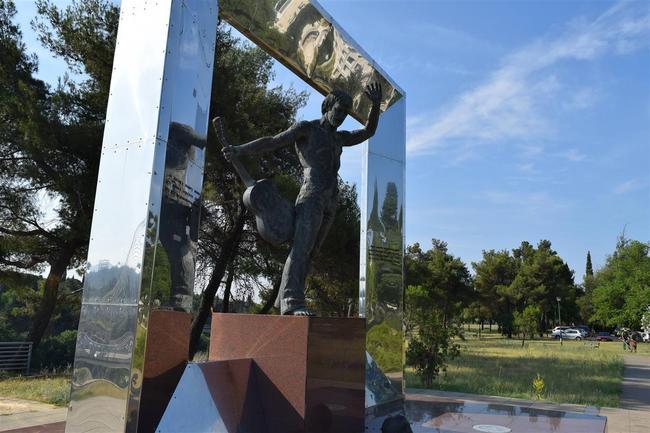 Памятник Высоцкому В.В.