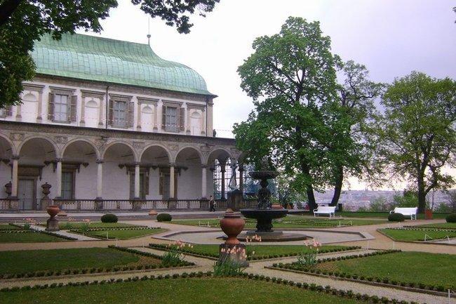 095 Бельведер в Королевских садах (Краловский летоградек)
