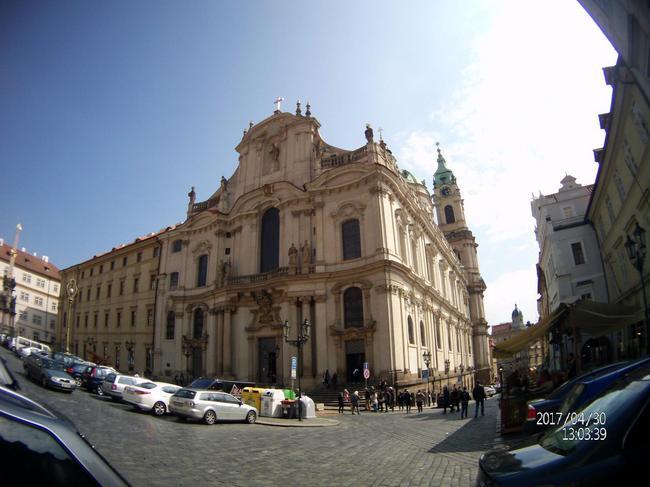 Прага. Собор Св. Николая.