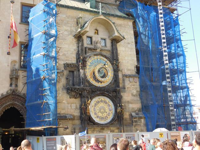 Часы на Староместкой площади