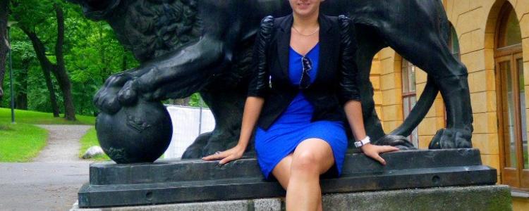 Лев в парке Стокгольма