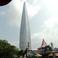 Lotte world tower днём