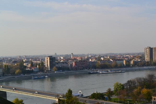 Нови-Сад с Петроварадинской крепости