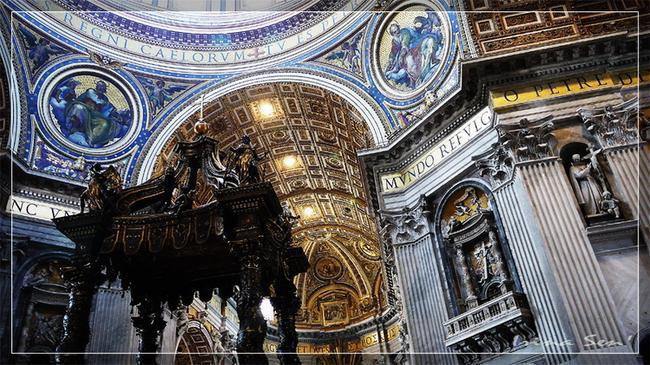 Собор Святого Петра. Интерьер