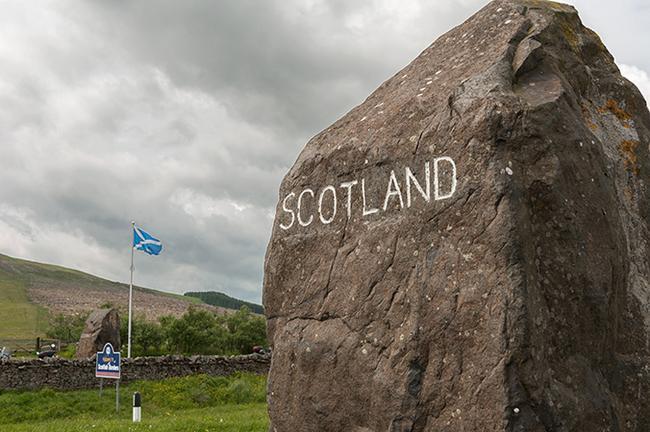 Граница Шотландии и Англии