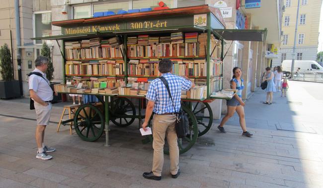 Венгры тоже читающая нация.