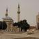 Турецкая мечеть и памятник Ази Асланову
