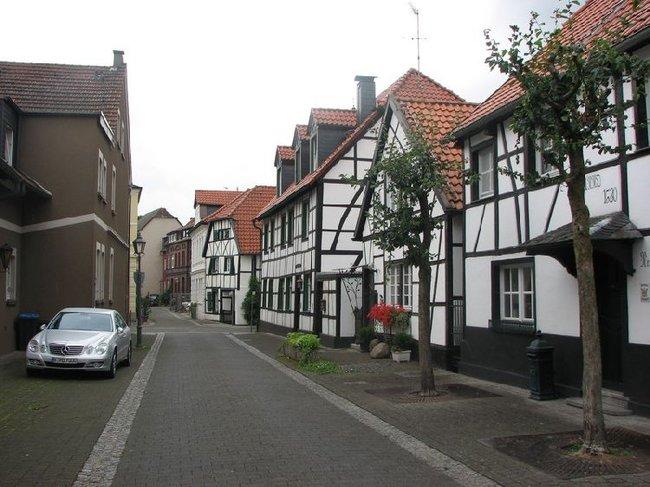 как выглядят в германии деревни