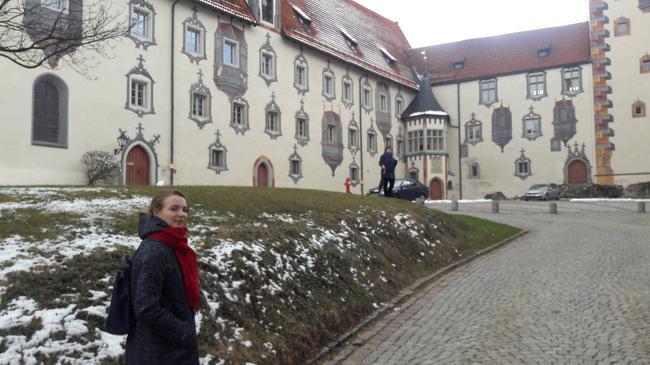 Высокий замок в Фюссене
