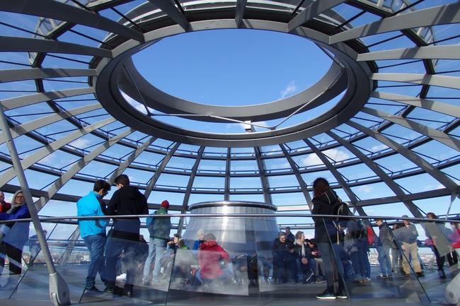 Под куполом Рейхстага