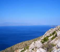 Вид на Коринфский залив