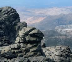 Вид с вершины Охи
