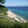 """Пляж отеля """"Aristoteles beach"""""""