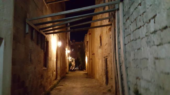 Старая крепость. Улицы