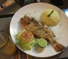 Ужин в Boca Chica
