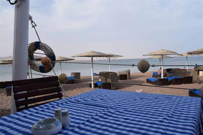 Вид из пляжного ресторана