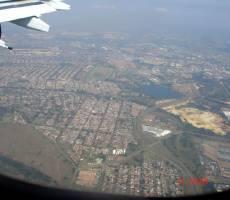 Йоханнесбург из самолета