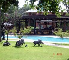 Zambezi Sun территория отеля
