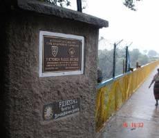 мост, соединяющий Замбию и Зимбабве