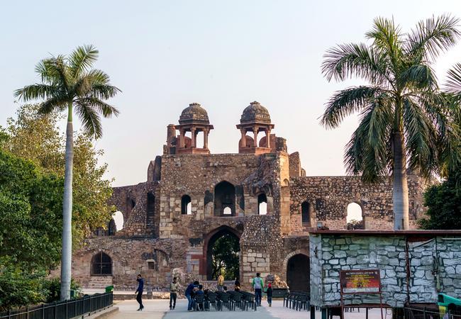Крепость Пурана-Кила.