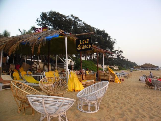 Пляж Калангут Love shak