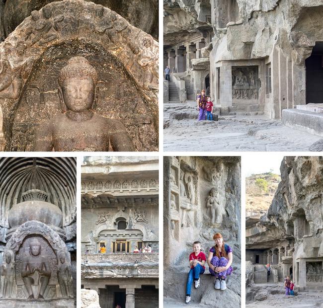 Пещеры Эллоры.