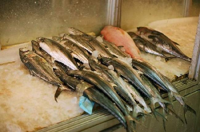 В рыбной лавке Шираза.
