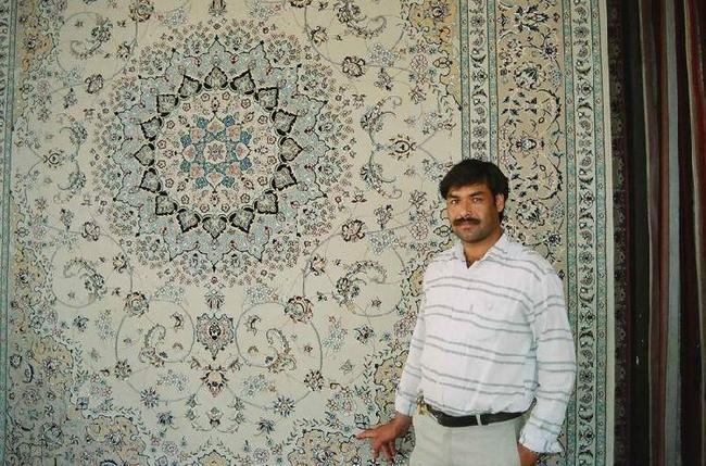 Продавец ковров.