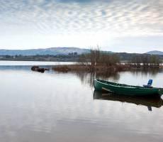Озеро Corrib в Коннемара