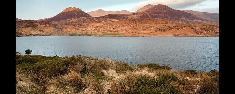 Закат на озере Acoose