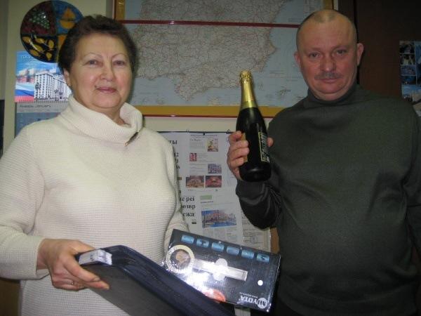 Купившей паре - бутылка Шампанского