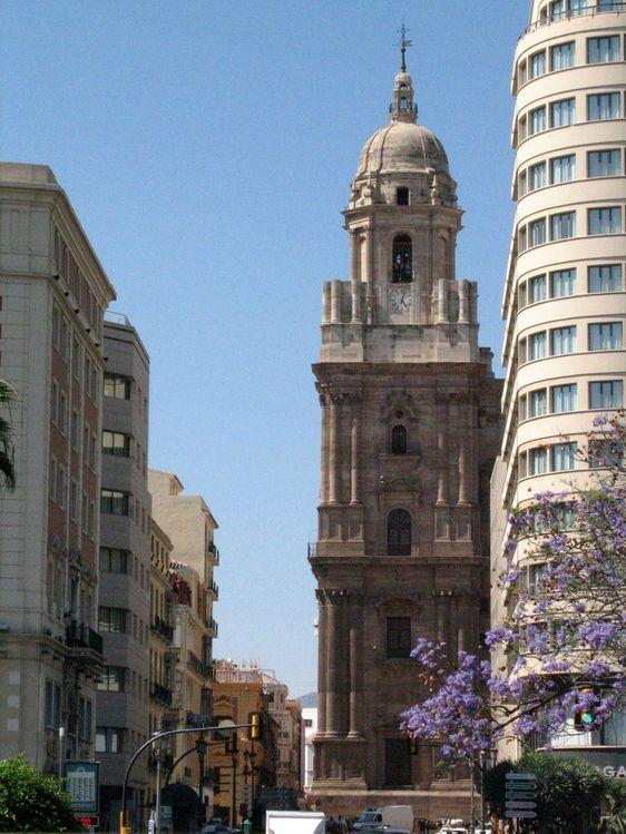 Малага, навсегда недостроенный Кафедральный собор