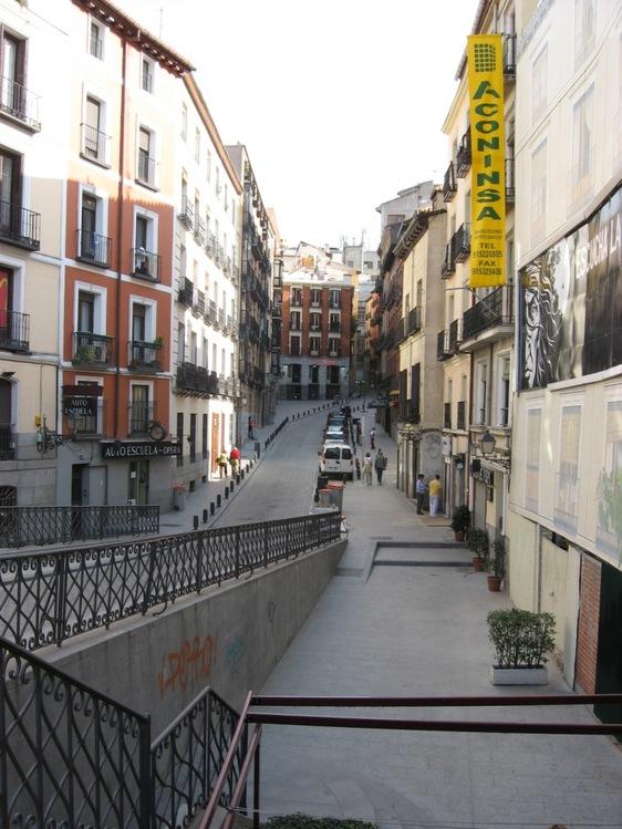 Улочка Мадрида