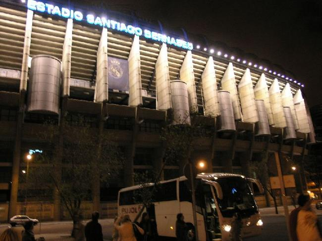 Мадрид Стадион Сантьяго Бернабеу