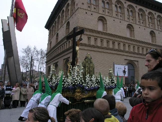 Сарагоса Пасхальное шествие