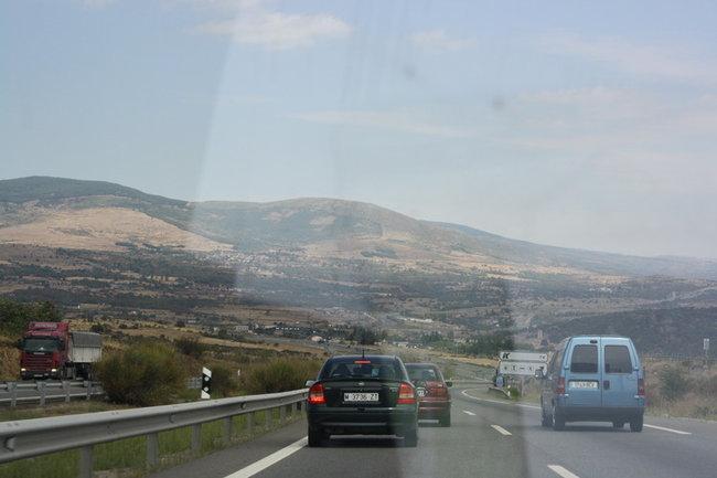 Дорога в Бургос