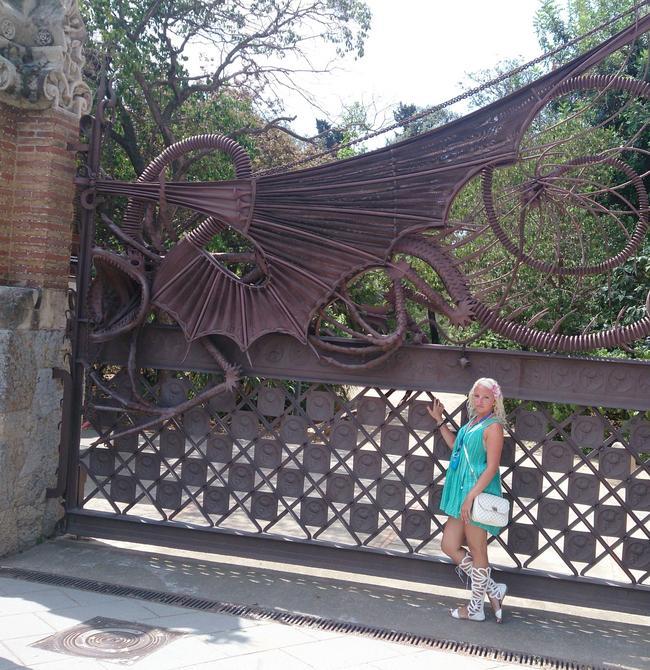 Дракон для ворот усадьбы Гауди