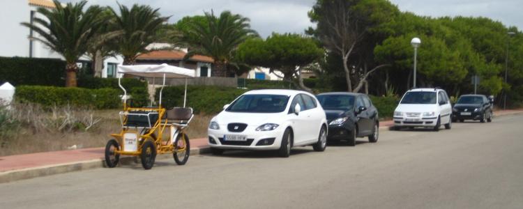 Припарковались, на сигнализацию поставили.
