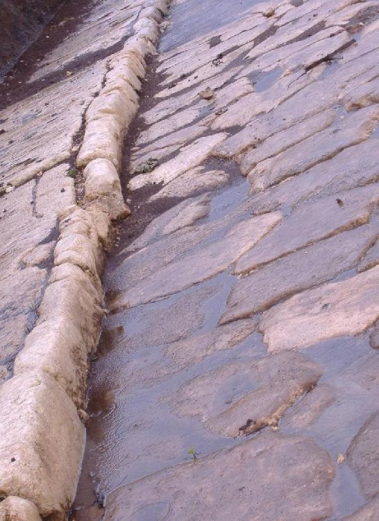 Римская дорога в Античной Норбе
