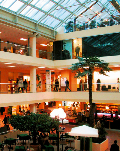 Аутлет в виде торгового центра