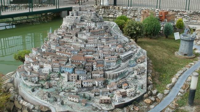Миниатюрные итальянские города