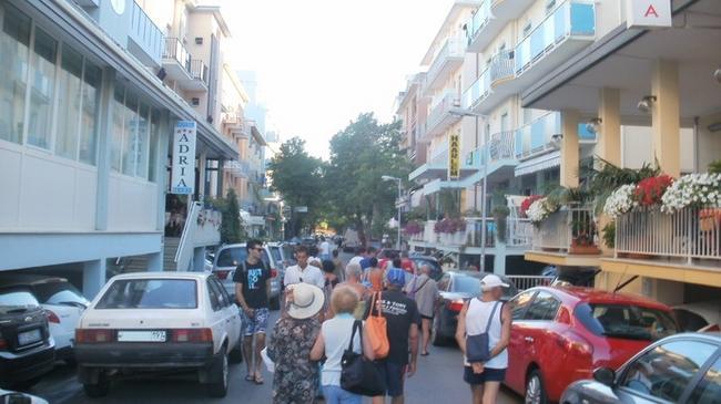 Парковка отеля Adria Mare