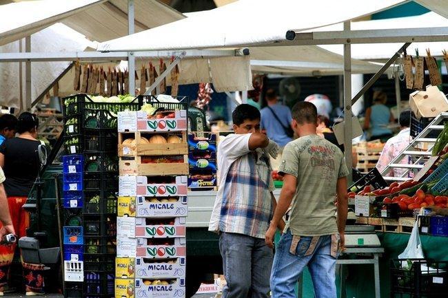 Рынок в Падуе.