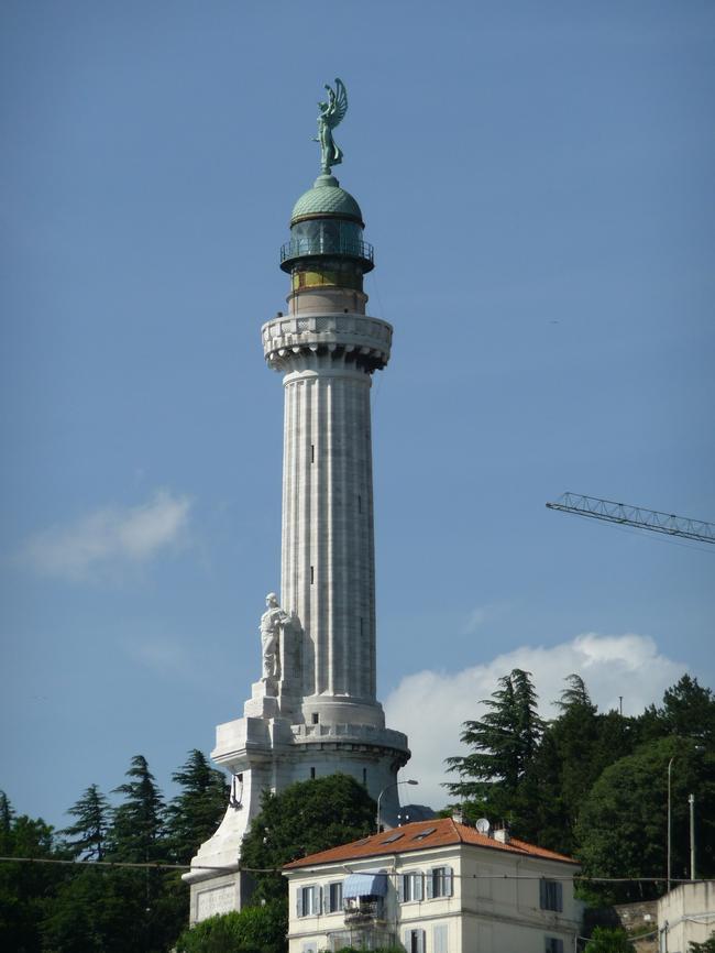 Триест, современный маяк