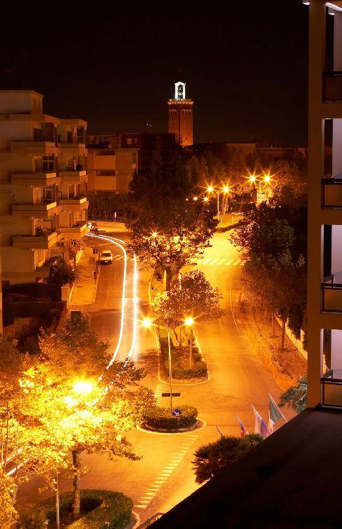 Улицы Гаэты вечером