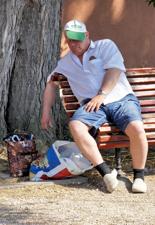Русского туриста разморило