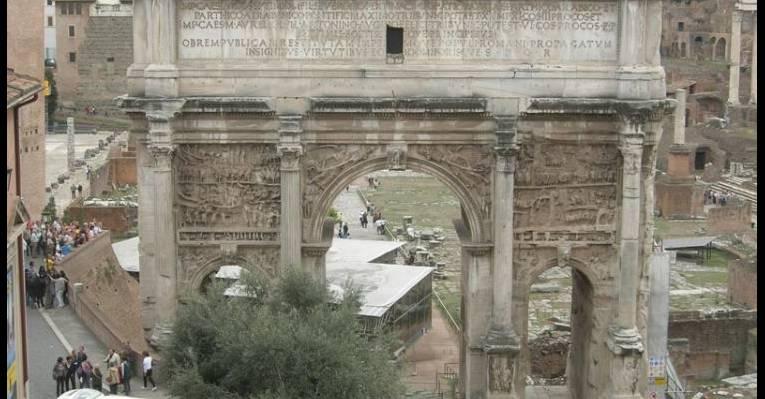 Триумфальная арка Септимия Севера
